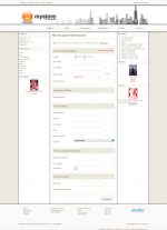 The default osCommerce settings: Boxes on both sides