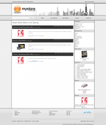 Dark gray custom color background for the subheadings on the reviews page