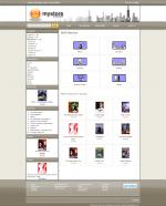 osCommerce store 840 pixels wide
