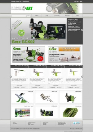 Acceleart: Your one stop shop for all your Grex Airbrush needs.