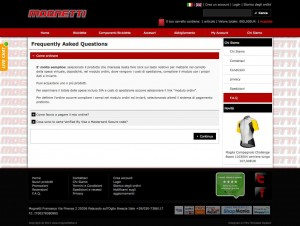 osCommerce F.A.Q. page in accordion style