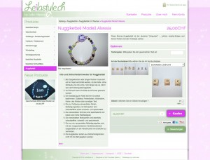 leilastyle product information page